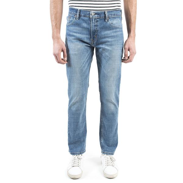 Levis 男款 511低腰修身窄管牛仔褲 / 水藍刷白 / 復古紙標 / 彈性布料