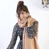 100%純羊毛披肩【IMACO】原色厚織(駝)
