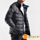 Wildland 荒野 0A22102-54黑色 男 輕量四層700FP羽絨衣