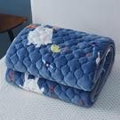 冬季絨珊瑚絨床單毛毯鋪床毯子墊床加絨毛絨法蘭絨加厚防滑絨毯子 夢幻小鎮ATT