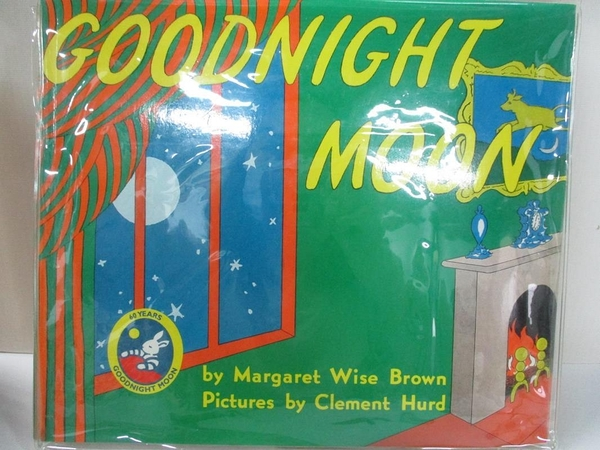 【書寶二手書T3/少年童書_J2S】Goodnight Moon_Brown, Margaret Wise/ Hurd, Clement (ILT)