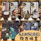 三星 A51 A71 4G A21s A7 2018 浮雕軟殼 多款 卡通殼 貓咪 手機殼 保護套 防摔 簡單手機套 插畫 殼