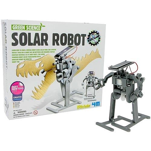 太陽能機器人Green Science - Solar Robot 一起來學習如何製作一個會動的太陽能機器人吧