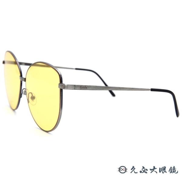 SPEKTRE 太陽眼鏡 MIA Gold (鐵灰) 貓眼 黃色鏡片 墨鏡 久必大眼鏡