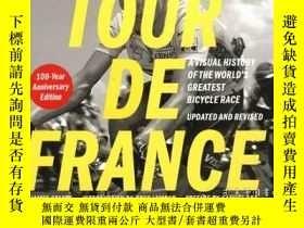 二手書博民逛書店Tour罕見de France Tour de Force環法自行車賽(100周年紀念版),英文原版Y4499