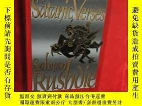 二手書博民逛書店The罕見Satanic Verses (小16開,硬精裝) 【詳見圖】Y5460 Salman Rushdi