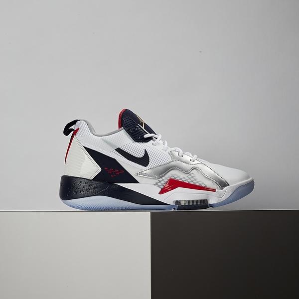 Nike Jordan Zoom 92 男鞋 黑白銀 氣墊 避震 包覆 支撐 籃球鞋 CK9183-101
