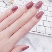 指甲油 裸色指甲油可剝持久無毒無味可撕拉不掉色網紅兒童少女腳趾