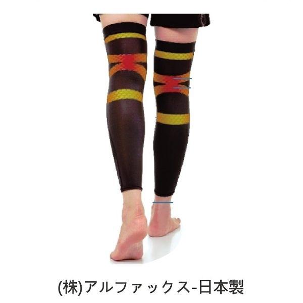 護具 護套 護襪 護膝 - 老人用品 銀髮族 穩步護腳 ALPHAX 日本製 [410409、16]
