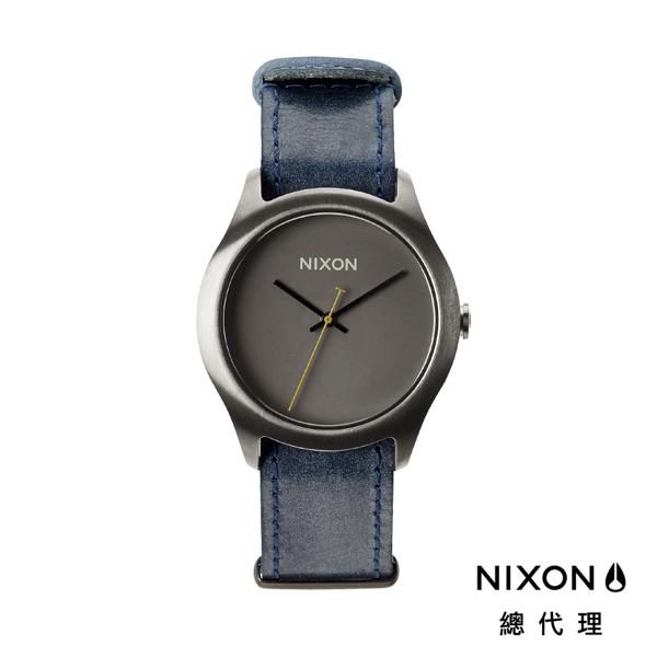 【官方旗艦店】NIXON MOD 簡約帆布錶帶 煙硝灰 潮人裝備 潮人態度 禮物首選