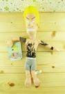 【震撼精品百貨】瘪四與大頭蛋~絨毛娃娃-黃