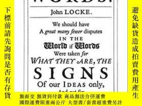二手書博民逛書店Of罕見The Abuse Of Words-濫用語言Y436638 John Locke Penguin U