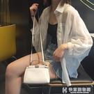 新款韓版寬鬆薄款防曬衣百搭開衫上衣白色雪紡襯衫外套女  快意購物網