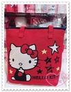 小花花日本精品Hello Kitty 提袋手提袋保冷內夾層外出包拉鍊式包包可提可背日本限定