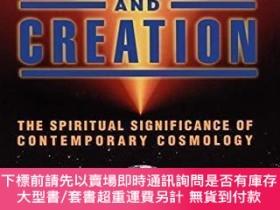 二手書博民逛書店Cosmology罕見and Creation: The Spiritual Significance of Co
