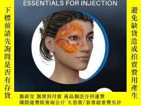 二手書博民逛書店Aesthetic罕見Facial Anatomy Essentials for Injections-註射美容面