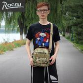 ROGISI陸杰士野營單肩包軍迷背包休閑背挎提包勤務戰術包10R02
