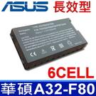 6CELL 華碩 ASUS A32-F80 原廠規格 電池 X61 X61G X61GX X61Q X61S X61SF X61SL X61SV X61W X61Z X80 X80A X80H X80L X80LE
