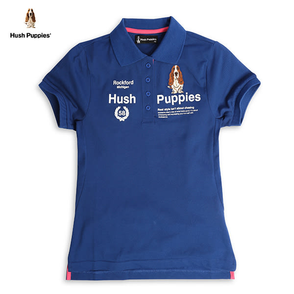 Hush Puppies POLO衫 女裝透氣涼感腰線剪裁修身POLO衫