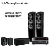 YAMAHA RX-V685 擴大機 + Wharfedale Diamond 11.3+11.CS+11.0 5聲道家庭劇院組 【公司貨保固+免運】