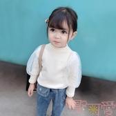 女童打底衫韓版童裝寶寶長袖T恤上衣秋冬【聚可愛】