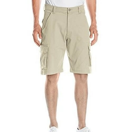 Wrangler 休闲Tampa货物短褲-(石色)