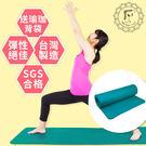 Fun Sport愛動派環保瑜珈墊-運動墊-台灣製-加大款(10mm)深綠90*180 -送束帶+背袋
