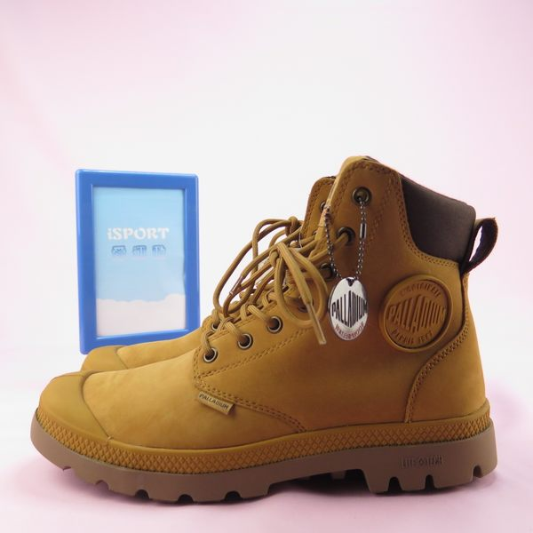 【iSport愛運動】Palladium PAMPA CUFF LITE+ WP 中靴 76118717 男女款 黃