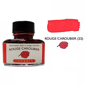 J. Herbin珍珠彩墨角豆紅 Rouge Caroubier