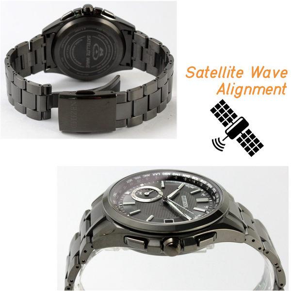 【萬年鐘錶】星辰 CITIZEN  Eco-Drive光動能 衛星 GPS定位對時 藍寶石玻璃 鈦金屬限量款  CC3015-57E