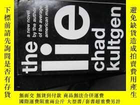 二手書博民逛書店c0018the罕見lie a novel19636 chad