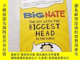 二手書博民逛書店The罕見Boy with the Biggest Head i