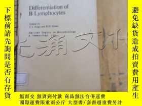 二手書博民逛書店Differentiation罕見of B Lymphocyte