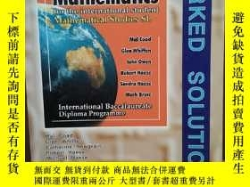 二手書博民逛書店Mathematical罕見Studies SL Worked