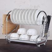促銷特價 廚房碗碟架 置物架 淋控水放裝碗筷收納盒箱 晾盤子家用洗碗池 瀝水架