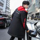 經典潮流日韓風邊條造型型保暖百搭連帽大衣外套