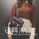後背包—韓國迷你雙背學院風女純色百搭鎖扣小背包復古雙肩包韓版簡約小包