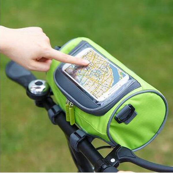 多功能自行車觸屏導航包 公路車 山地車 小摺 龍頭收納包 騎行包