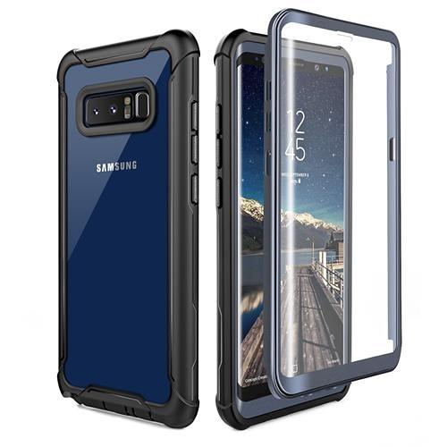 【美國代購】三星Galaxy Note 8手機殼 超薄透明保護套 黑色/灰色
