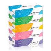 (下殺67折)衛生紙 日本大王elleair 柔膚抽取式面紙(180抽x5盒)