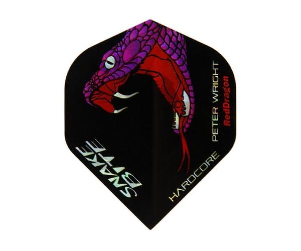 【Red Dragon】Snakebite Peter Wright Model HardCore F6160 鏢翼 DARTS