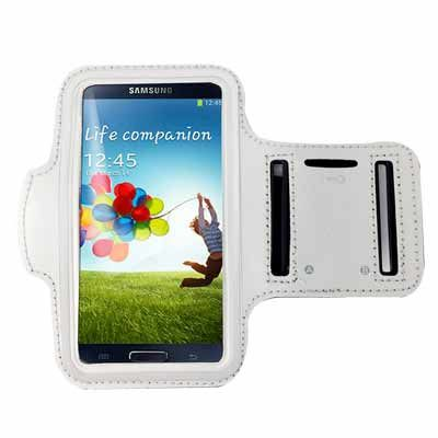 (3折)手機專用運動臂套(三星/小米/HTC/SONY 5吋以下手機通用) 銀