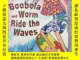 二手書博民逛書店Boobela罕見and Worm Ride the Waves