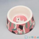 寵物用品貓碗狗碗飯盆狗盆大型犬狗盤【千尋之旅】