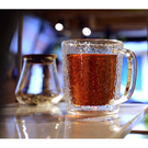 鎚目紋馬克杯-雙層玻璃(450ml) 馬...