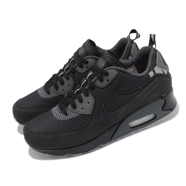 Nike 休閒鞋 Air Max 90 UNDFTD Undefeated 黑 灰 男鞋 限量【ACS】 CQ2289-002