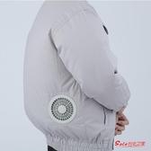 防暑降溫服 夏季降溫空調服帶風扇製冷衣服男充電戶外焊工高溫防暑工地工作服T 6色S-3XL