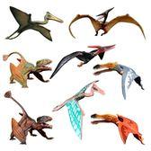 仿真塑膠恐龍世界模型玩具風神翼龍翼手龍兒童男女孩禮物 蜜拉貝爾