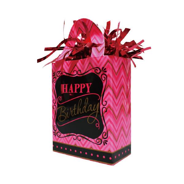 禮物袋氣球座-生日快樂