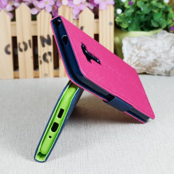 【經典雙色】Asus Zenfone 3 ZE552KL/Z012DA 5.5吋 韓風皮套/書本式側掀保護套/側開插卡手機套/斜立支架